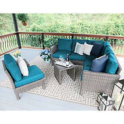 Leisure Made Canton 6-Piece Outdoor Sectional Set