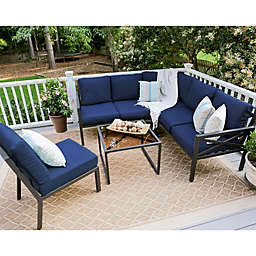 Leisure Made Blakely 5-Piece Outdoor Sectional Set