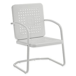 Bates All-Weather Steel Chairs (Set of 2)