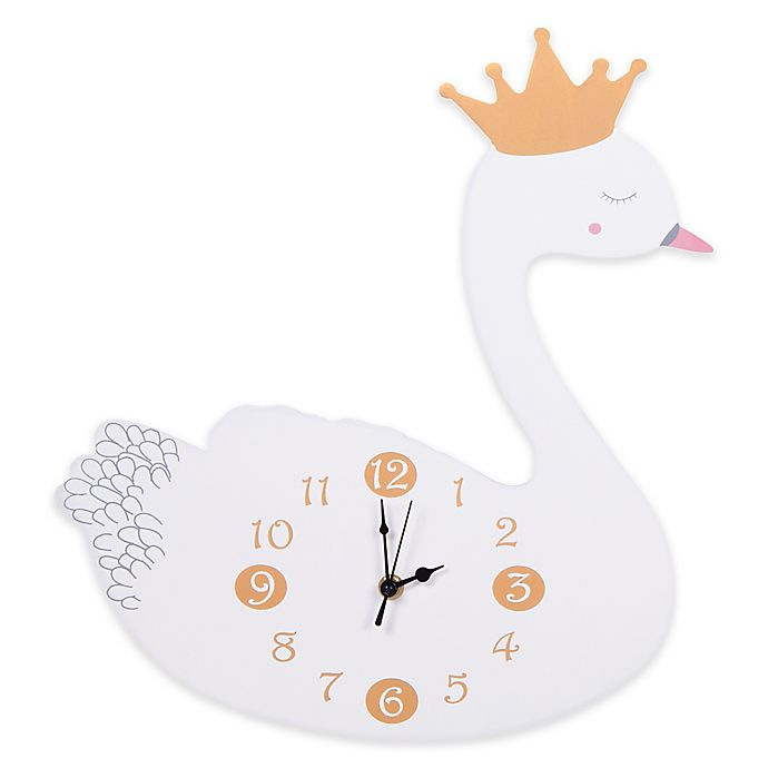 Alternate image 1 for Trend Lab® Swans Wall Clock