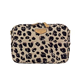 TWELVElittle Leopard Diaper Clutch in Brown