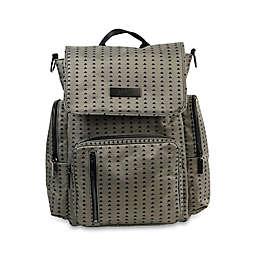 Ju-Ju-Be® Be Sporty Backpack Style Diaper Bag in Black/Olive