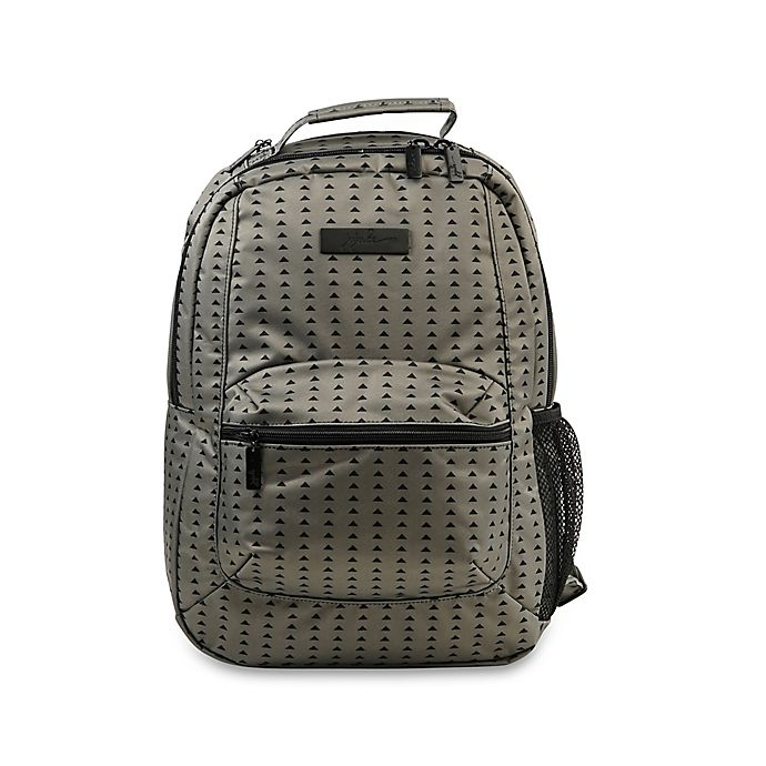 Alternate image 1 for Ju-Ju-Be® Be Packed Diaper Bag Backpack in Black/Olive