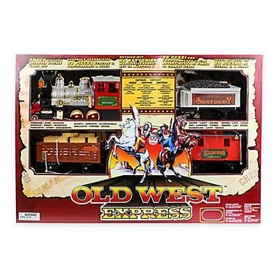 Gener8 35-Piece Western Train Playset