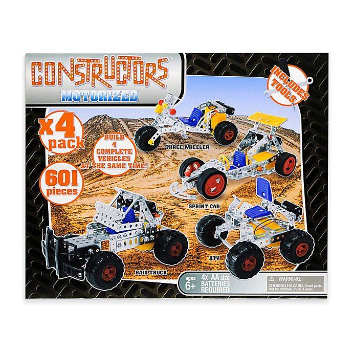 Alternate image 1 for Gener8 4-in-1 Motorized Metal Constructors Set