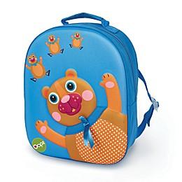 Oops 3D Bear Easy Backpack in Blue