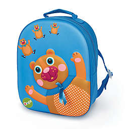 Oops 3D Bear Easy Backpack in Blue