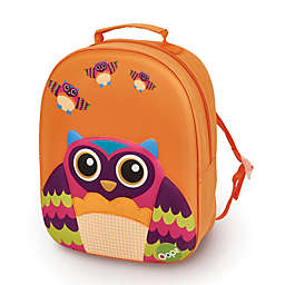 Oops 3D Owl Easy Backpack in Orange