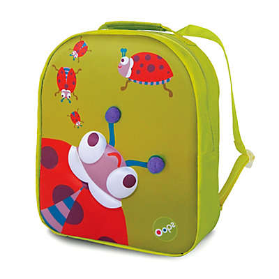 Oops 3D Lady Bug Easy Backpack in Green