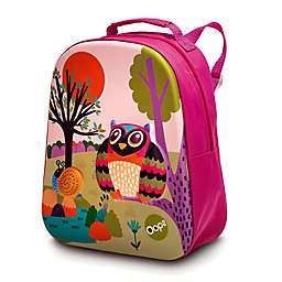 Oops Happy Owl Soft Backpack in Pink