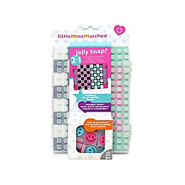 Little Miss Matched® 2-in-1 Jelly Snap Checkers Gaming Notebook