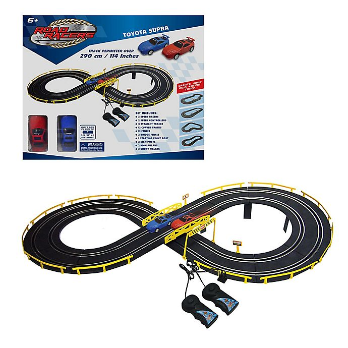 Alternate image 1 for Grandex Battery Operated Race Track Playset