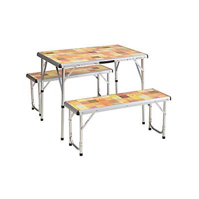 Coleman® Portable Picnic Table & Bench Set