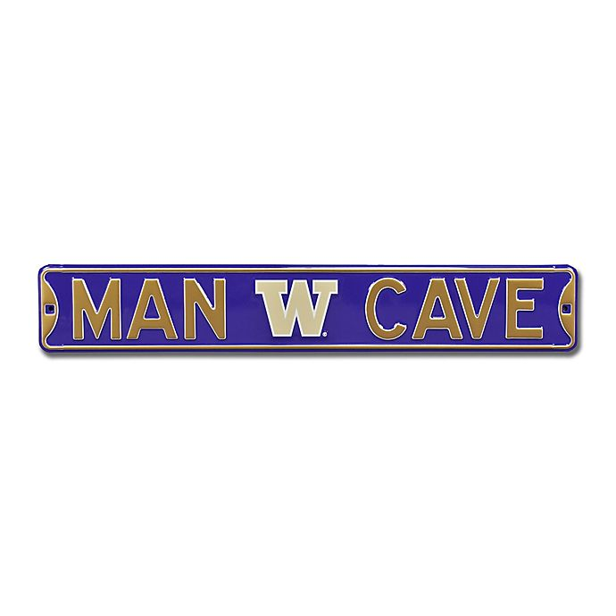 Alternate image 1 for NCAA University Of Washington Steel Wall Art in Black