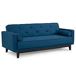 Sealy® Polyester Convertible Sofa  in Blue