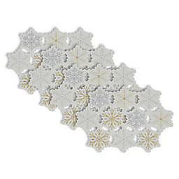 Design Imports Snowflake Placemat (Set of 4)