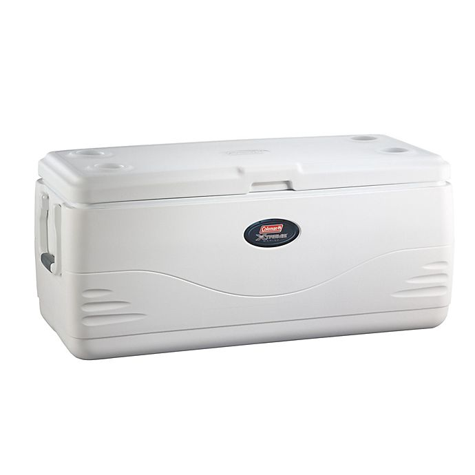Alternate image 1 for Coleman® Xtreme 6 Marine 150-Quart Cooler in White
