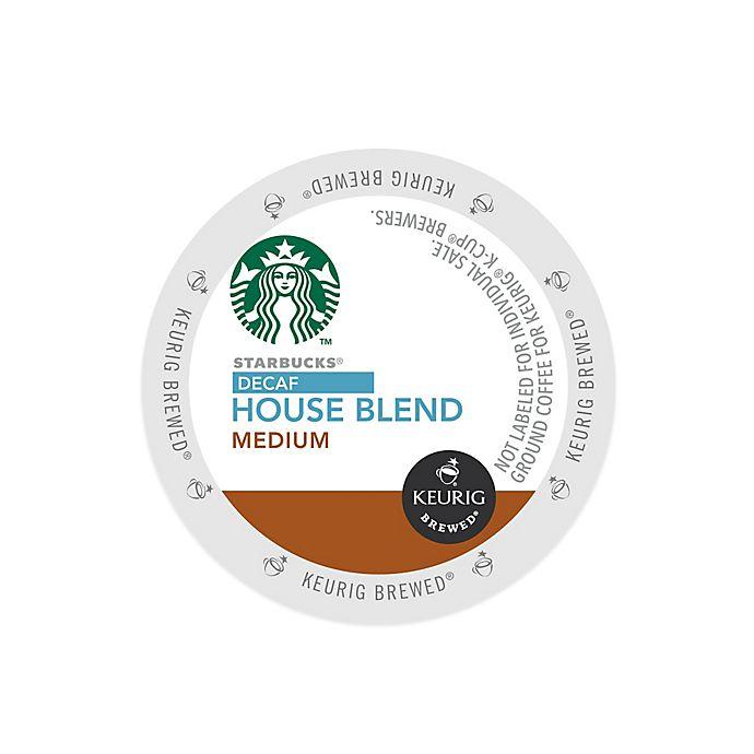 Alternate image 1 for Keurig® K-Cup® Pack 16-Count Starbucks® House Blend Decaf