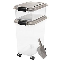 IRIS® 3-Piece Airtight Pet Food Container Combo