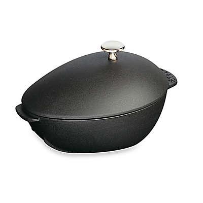 Staub 2-Quart Cast-Iron Mussel Pot with Knob