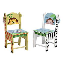 Fantasy Fields Sunny Safari 2-Piece Chair Set