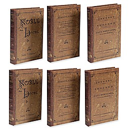 A&B Home Faux Book Boxes (Set of 3)