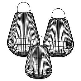 Blomus Nidea Steel Lantern in Black
