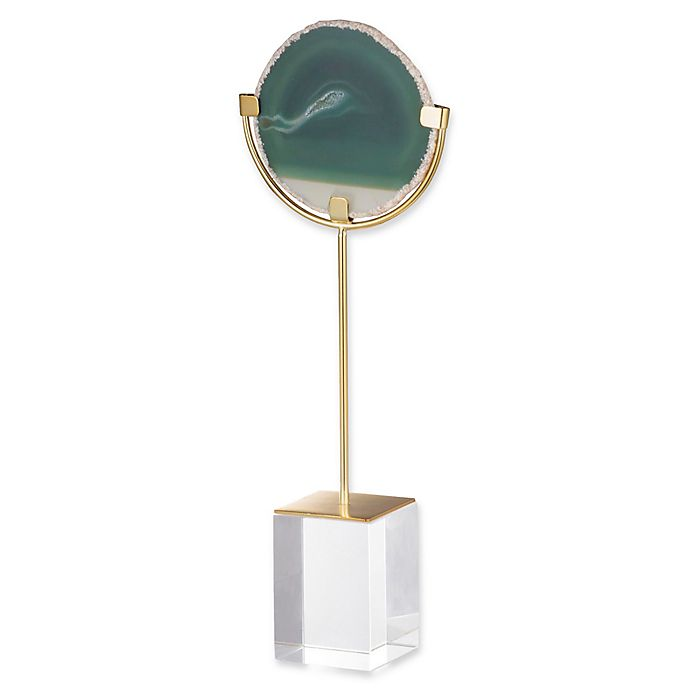 Alternate image 1 for A&B Home Small Floating Agate Figurine in Green