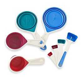 Chef'n® sleekstor™ 8-Piece Collapsible Measuring Cups and Spoons Set