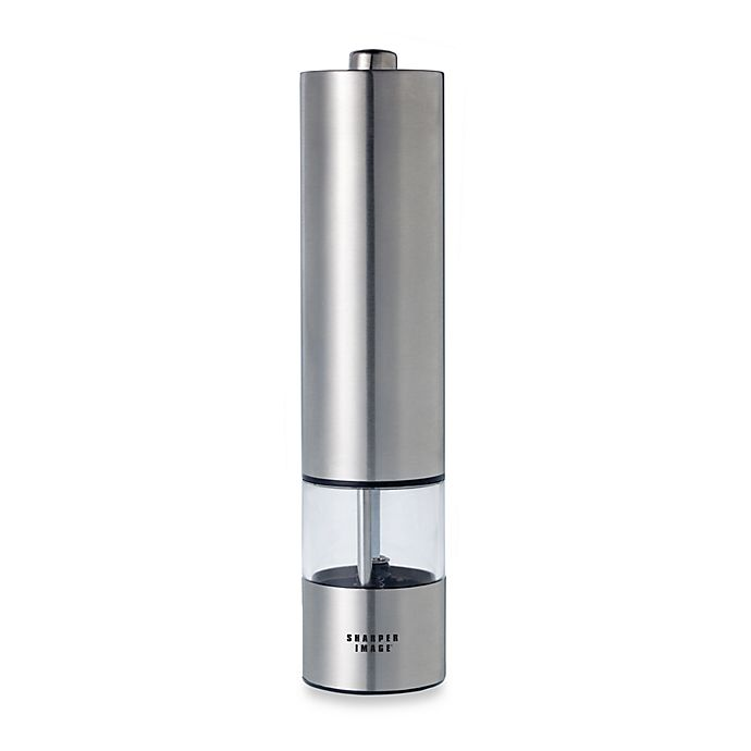 Battery Operated Electric Stainless Steel Pepper Mill Bed Bath