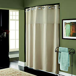 Hookless® Waffle 72-Inch x 98-Inch Fabric Shower Curtain in Desert