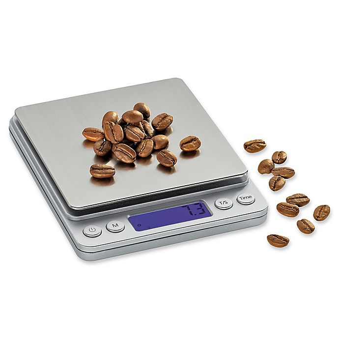 Alternate image 1 for Zassenhaus Barista Digital Pocket Scale