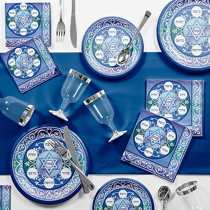 Alternate image 1 for Creative Converting™ 81-Piece Passover Tableware Kit