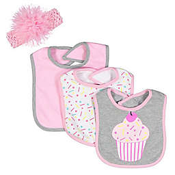Baby Lounge Baby Infant 4-Piece Bib Set
