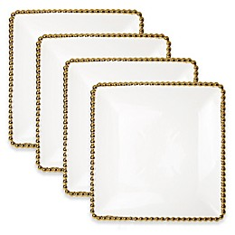 Classic Touch Gold Bead Serving Set (Set of 5)