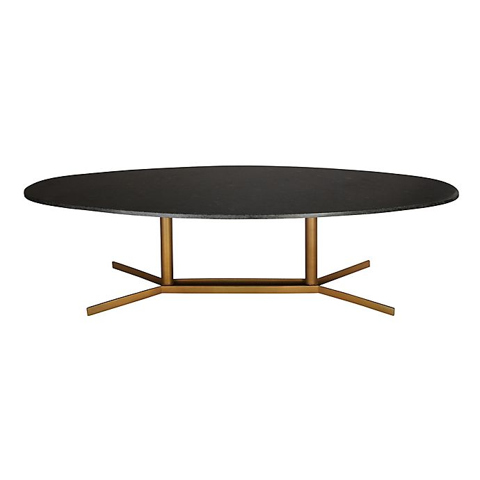 Alternate image 1 for Gemma Cocktail Table in Black/Gold
