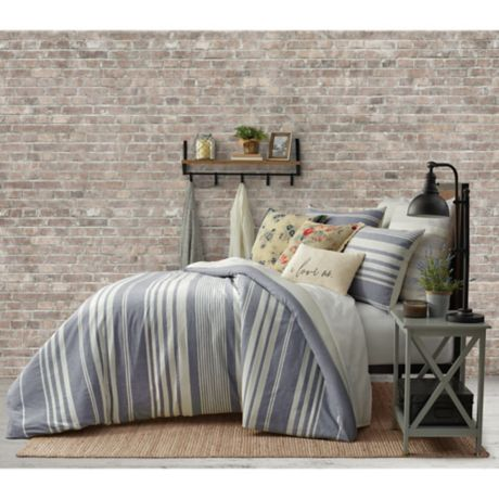 Bee Amp Willow Home Yarn Dye Stripe Bedding Collection