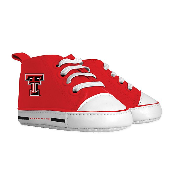 Alternate image 1 for Baby Fanatic® Texas Tech University Size 1 Hightop Pre-Walkers