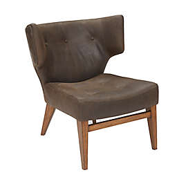Harbor House® Leather Glaser Chair in Brown