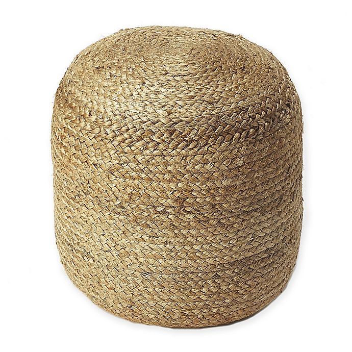 Alternate image 1 for Butler Specialty Company Pouf Ottoman in Natural