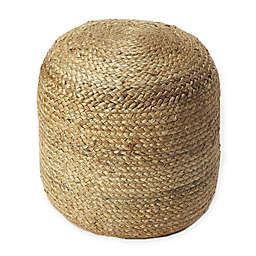 Butler Specialty Company Upholstered Pouf Ottoman in Natural