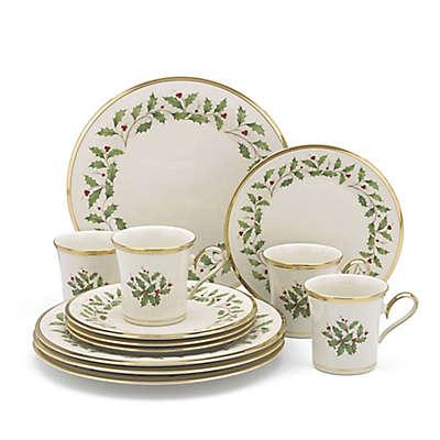 Lenox® Holiday™ 12-Piece Dinnerware Set