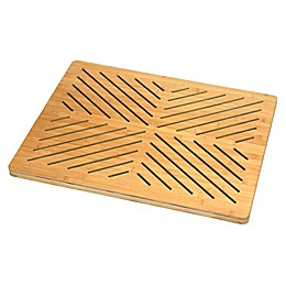 Oceanstar Design Bamboo Bath Mat in Natural