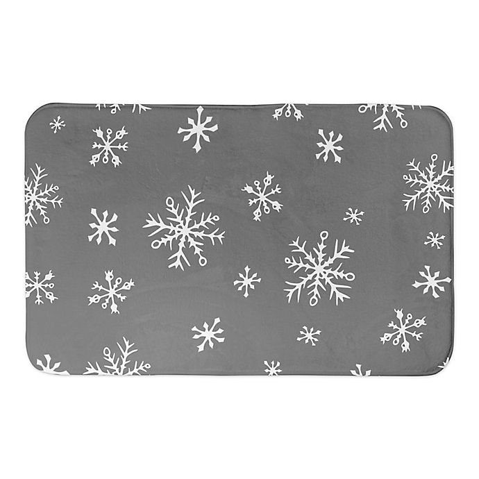 Alternate image 1 for Designs Direct Grey and White Snowflakes 34\
