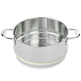 Demeyere Atlantis Stainless Steel Steamer Insert with Silicone Gasket