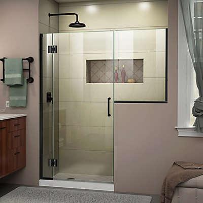 DreamLine Unidoor-X 53-53.5-Inch Frameless Hinged Shower Door
