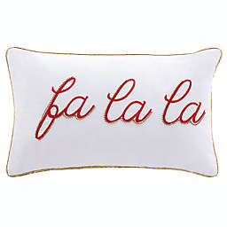 Safavieh Fa La La Oblong Throw Pillow in Ivory/Red
