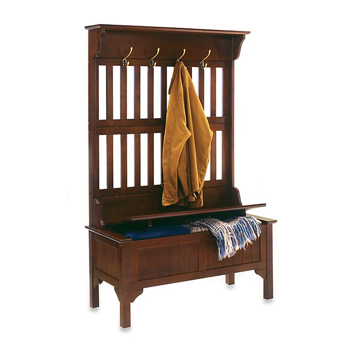 Alternate image 1 for Home Styles Hall Tree and Storage Bench
