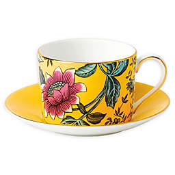 Wedgwood® Wonderlust Yellow Tonquin Teacup and Saucer