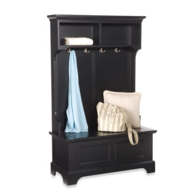 Home Styles Bedford Hall Tree And Storage Bench Bed Bath